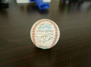 1994 Toronto Blue Jays team autographed baseball 20 signatures near mint