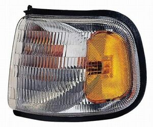 Turn Signal / Parking Light Assembly Front Left Maxzone 333-1518L-US