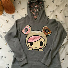 tokidoki Pull Over hoodie Sweater Size small Long Sleeve