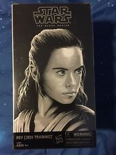 Star Wars Last Jedi Black Series Rey & Luke Skywalker SDCC Hasbro Comic Con