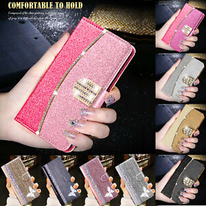 Flip Leather Case for Samsung Galaxy S21 S20 FE Note 20 S9 Magnetic Wallet Cover