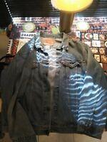 LEVI STRAUSS Men's XL JEAN JACKET VINTAGE Blue Denim TRUCKER 70507 Red Tag