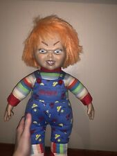 Sideshow Plush 18'' Chucky Doll Collectible Bride Of Chucky Toy orange hair