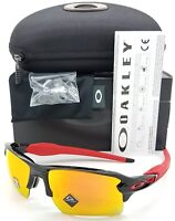 NEW Oakley sunglasses Flak 2.0 XL Black Prizm Ruby 9188-80 AUTHENTIC Jacket Red
