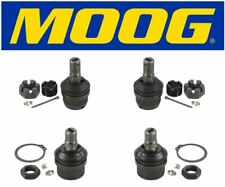 Moog Set Of 2 Upper & 2 Lower Ball Joints Fits 1990 Chevrolet V2500 Suburban