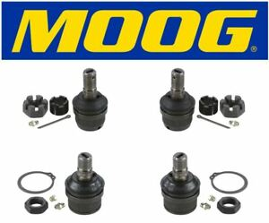 Moog New Front Upper & Lower Ball Joints Dana 44 Front Axle 4X4 Dodge Ford Chevy