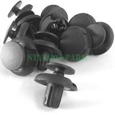20 X Nylon Front Push-Type Retainer Clips Rivet Fastener 91501-S04-003 for Honda