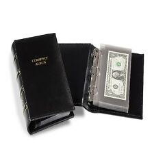 CURRENCY ALBUM - Holds 40 MODERN U.S. NOTES - DOUBLE THE SLEEVES!!!!