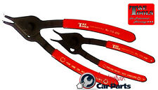 Convertible 45 degree Circlip Pliers Set T&E Tools 117 NEW