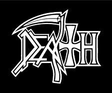 Obituary Death Metal Band Vinyl Decal Guitar Laptop Car Window Sticker