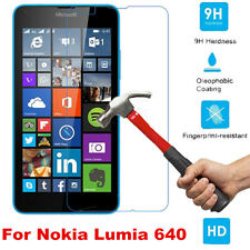 100% Genuine Tempered Glass Screen Protector Guard For Microsoft Nokia Lumia 640