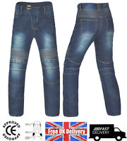 NEW Motorbike Motorcycle Jeans Cargo Style Riding  Trousers / Pants CE Armours