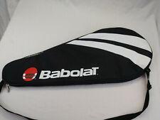 BABOLAT- Standard-Tennis Racquet Carry Bag Padded Single Racquet BLACK