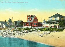 Circa 1910-20 Beach at Bay View, South Dartmouth, MA Vintage Postcard P36