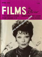 LUCILLE BALL - FILMS IN REVIEW - APRIL 1974