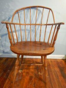 Antique Sackback Windsor Arm Chair