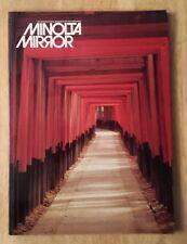 Minolta Mirror Magazine 1983 Nice Collectible