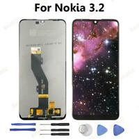 Black For Nokia 3.2 LCD Display Touch Screen Digitizer Assembly Replacement BT02