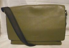 NWOT COACH MEN'S LEATHER SULLIVAN MESSENGER BAG SURPLUS GREEN 71726