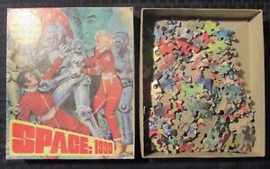 1970's H.G. Toys SPACE 1999 14x10 Jigsaw Puzzle 497-03 Complete VF/VG+ 150pc