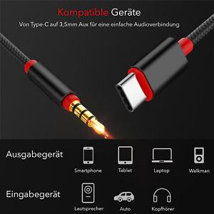 USB C Aux Kabel in Audio USB C Adapter Klinke 3,5mm auf USB Type C in sterio