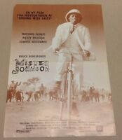"""Mister Johnson"" Pierce Brosnan Woodward Vtg 1990 Danish Movie Press Release Kit"