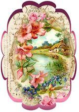 Shabby-Landhaus-Möbeltattoo-Dekoaufkleber-Romantik-Stil **1901 **Nr.: 6069