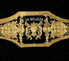 82-AzC-VITOLA Antigua-Cigar Band-Marca LA BELLEZA