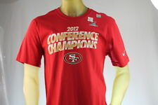 "NIKE ""2012 CONFERENCE CHAMPIONS"" MEN'S RED GRAPHIC T-SHIRT size Large"