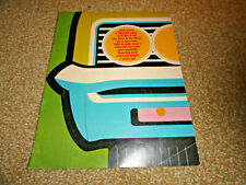 "1966 CHEVY MAILER/SALES BROCHURE ORIGINAL VERY GOOD HAS BEEN MAILED 8-1/2""X11"""