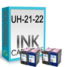4 UCI® ink Cartridge fit for HP 21XL 22XL Deskjet F2280 F22655 F4100 F4140 F4172