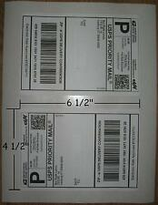 1500 SHEET LABELS FOR PAYPAL/USPS SHIPPING NO CUTTING