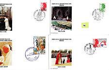 Vatican  Jean Paul II  FDC&/or max card  div lot II   284