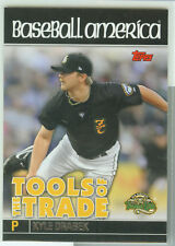 Kyle Drabek Toronto 2010 Topps Debut Tools of the Trade
