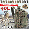 40L Outdoor Military Tactical Bag Camping Hiking Trekking Waterproof Backpack