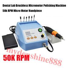 Dental Lab Electric Brushless Micromotor Polish Grinder Machine 50krpm Handpiece