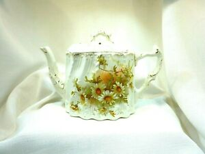 1900's Antique Stoke On Trent Staffordshire England R9804060 Teapot