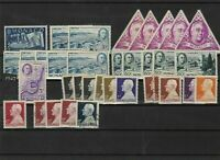 monaco 1947 mounted mint + used  stamps  ref 11660