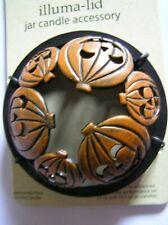 Yankee Candle 2003 Halloween Bats Pumpkins Illuma Lid Topper New Free Shipping