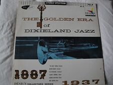 THE GOLDEN ERA OF DIXIELAND JAZZ 1887-1937 VINYL LP DESIGN RECORDS SDLP 38, EX