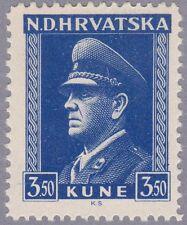 Kroatien 1943 Mi.Nr. 106 ungebraucht