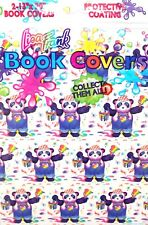"Lisa Frank (2) 13"" x 20"" Book Covers w/ Protective Coating Panda Bear Koala"