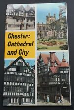 Chester: Cathedal and City-C.E.Jarman-Jarrold-1972-Card Covers-1st-Fine