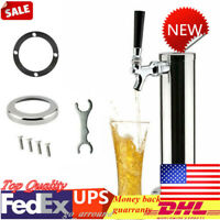 Single Tap Stainless Steel Draft Beer Tower Chrome Faucet For Home/Bar