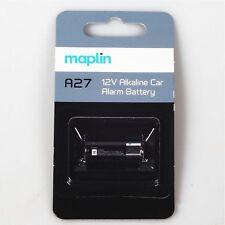 2 X A27 12v Car Alarm Alkaline Battery