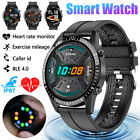Waterproof Smart Watch Blood Pressure Oxygen Heart Rate Monitor for Android IOS <br/> ❤️Bluetooth Call✅Fitness Tracker✅10 Sport Modes❤️