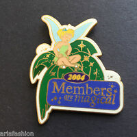 Tinker Bell (Members Are Magical 2004 DVC) Disney Vacation Club Disney Pin 27672