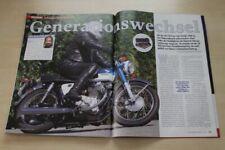Motorrad News 3498) Honda CB 250 K0 mit 30PS in einer seltenen Vorstellung auf