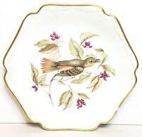 """Mitterteich Bavaria Germany Bird and Berries Salad/Dessert Plate 8"""""""