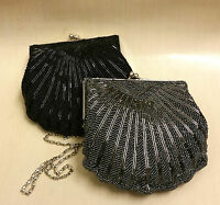 New Beaded Bridal Wedding Ladies Party Prom Evening Hand Bag Purse
